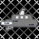 Miilitary Submarine Icon