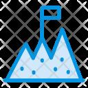 Milestone Business Goal Target Icon