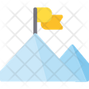 Mountain Goal Seo Icon