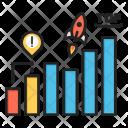 Milestone Chart Growth Icon