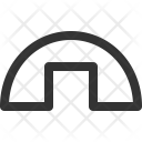 Military Base Building Icon