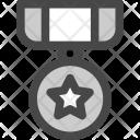 Military Award Star Icon