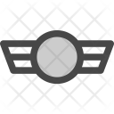 Military Soldier Wings Icon
