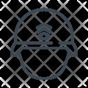 Military Army Helmet Icon