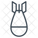 Military Bomb Missiles Icon