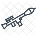 Military Rocket Launcher Icon