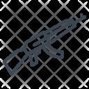 Military Army Gun Icon