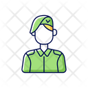 Military Soldier Force Icon