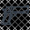 Military Hand Gun Icon