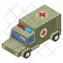 Military Ambulance Medical Transport Healthcare Icon