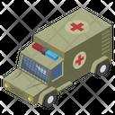Military Ambulance Icon