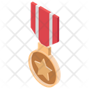 Military Award Medal Bedge Icon