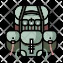 Backpack Military Rakshak Icon