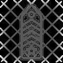 Military Chevron Uniform Icon