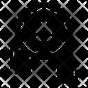 Military Badge Star Badge Emblem Icon