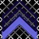 Military Ran Triple Stripe Icon