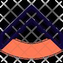 Military Rank Badge One Stripe Icon
