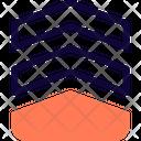Military Rank Double Stripe Icon