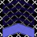Military Rank Triple Stripe Icon