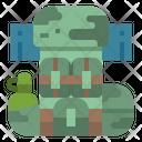 Military Bag Army Bag Bagpack Icon