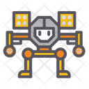 Military Battle Tech Robot Military Robot Icon