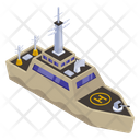Military Boat Icon