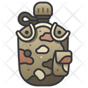 Military Water Bottle Icon