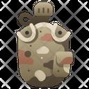 Military Bottle Icon