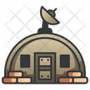 Military Bunker War Icon