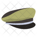 Military Cap Icon
