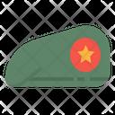 Military Cap Army Cap Cap Icon
