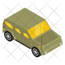 Military Vehicle Armoured Car Military Car Icon