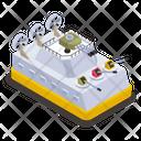 Military Combat Ship Icon