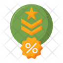 Military Discount Military Discount Army Discount Icon