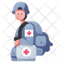 Military Doctor Icon