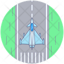 Military Fighter Jet Airplane Fighter Plane Icon