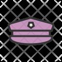 Military Hat Cap Icon