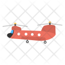 Military Transport Helicopter Icon