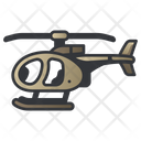 Military Helicopter Army Icon