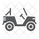 Military Vehicle Car Icon