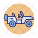 Military Jeep Transport Army Icon