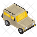 Military Vehicle Armoured Jeep Military Jeep Icon