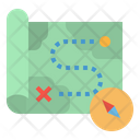 Military Map Map Location Icon