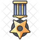 Soldier Medal Military Icon