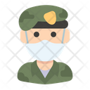 Military Officer Icon