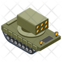Military Panzer Army Tank Armoured Vehicle Icon