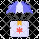 Hot Air Balloon Military Parachute Parachute Icon