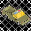 Military Vehicle Armoured Pickup Military Pickup Icon