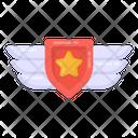 Military Star Military Badge Military Rank Icon