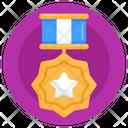 Star Emblem Military Reward Achievement Icon